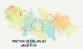 Functions in real-world application