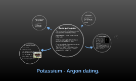 what can potassium argon dating be used for