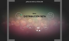 Copy of DISTRIBUCIÓN BETA