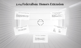 Copy of 2.04 Federalism: Honors Extension
