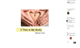 Copy of // This Is My Body