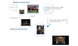 Abidal , an Inspiration!