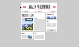 ARALIN PANLIPUNAN