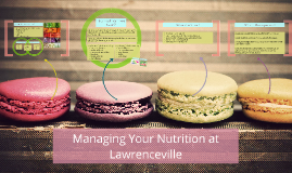 Managing Your Nutrition at Lawrenceville