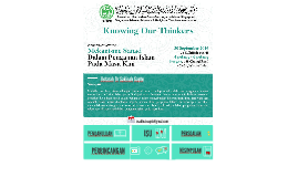 Mekanisme Sanad Dalam Pengajian Islam -PERGAS