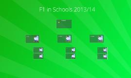 F1 in Schools 2013/14