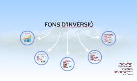 FONS D'INVERSIÓ