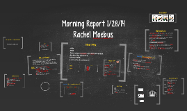 Morning Report 1/28/14