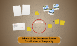 Ethics of the Disproportionate Distribution of Inequality
