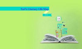 Tori's Literacy Life Map