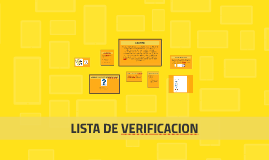 Copy of LISTA DE VERIFICACION