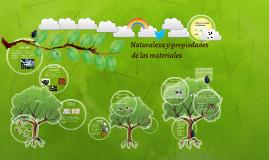 Naturaleza y propiedades de los materiales