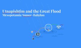Utnapishtim and the Great Flood