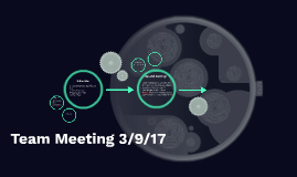 Team Meeting 3/9/17