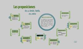 Las preposiciones (1)
