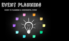 Copy of Event Planning