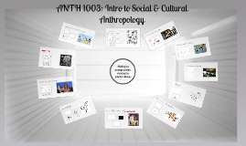 ANTH 1003: Introduction to Social and Cultural Anthropology (Spring 2017)