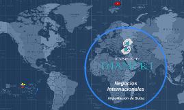 Negocios Internacionales Importación de Suiza