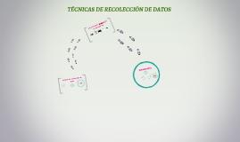 Copy of TECNICAS DE RECOLECCIÓN DE DATOS