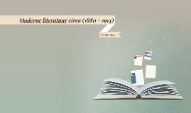 Moderne literatuur (1880-1914)