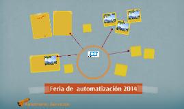 Feria de  automatización 2014