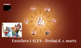 Fastelavn i ALFA - fredag d. 1. marts