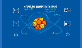 Atoms and Elements - 5th Grade