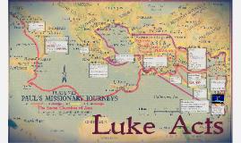 Luke Acts