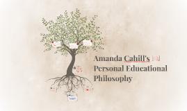 Amanda Cahill's Personal Education