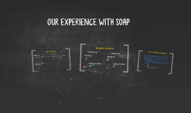 OUR EXPERIENCE WITH SOAP