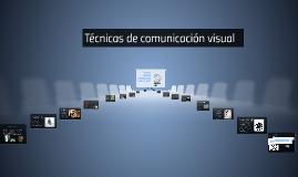 Técnicass visuales: estrategias de comunicación