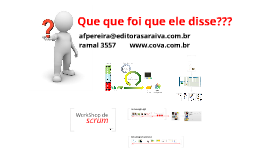 WorkShop de Scrum