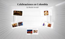 Celebraciones en Colombia