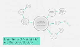 The Effects of Masculinity in a Gendered Society