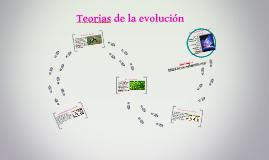 Teorias de la evolu