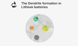 The Dendrite formation in Lithium batteries