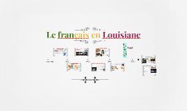 Le français en Louisiane