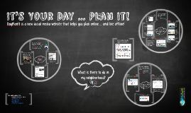 DayPlanIt. It's Your Day … Plan It!