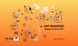 Tema 4. L'art romànic