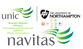 Week 3 - Research aims and objectives. Ethical Considerations