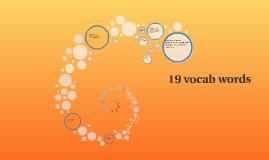 19 latin words