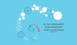 EC FILE COMPLIANCE PROCES #2S