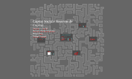 Capital Social e Reservas de Capital