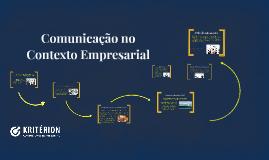 CDL Comunicação no Contexto Empresarial