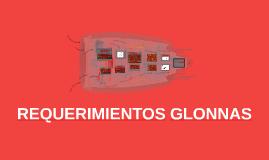 requerimientos glonnas