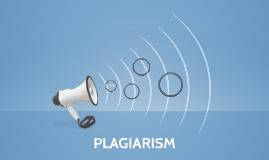 PLAGIARISM -