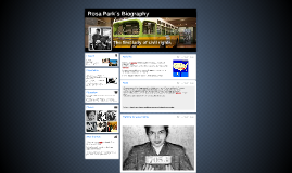 Rosa Park´s Biography