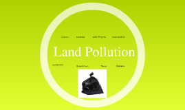 Land Pollution - Enzo Shinwon Ivi