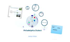 Philadelphia Dialect