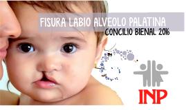 FISURA LABIO ALVEOLO PALATINA